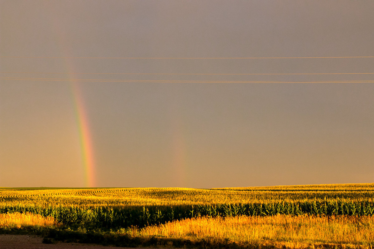 midwest travel rainbow photography