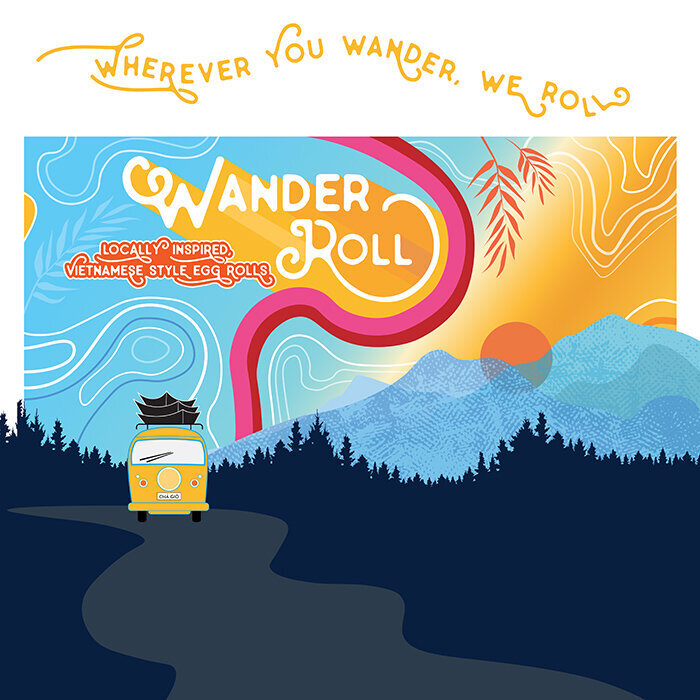 Wander Roll Food Truck Custom Design