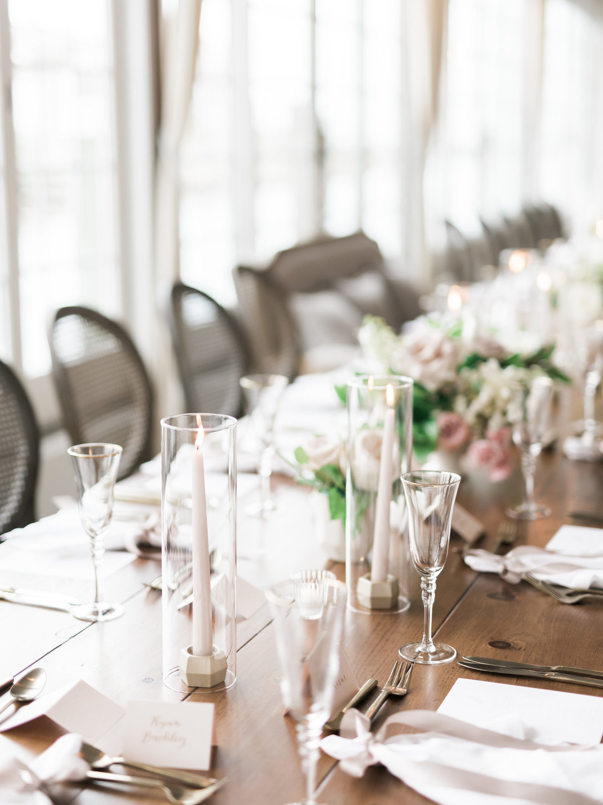Head Table similar to the Kennedy wedding on Cape Cod
