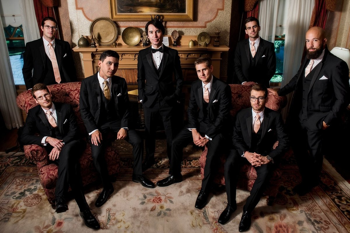 Groomsman in the style of the Dutch Masters,  Gramercy Mansion