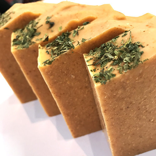 tomato cold process soap