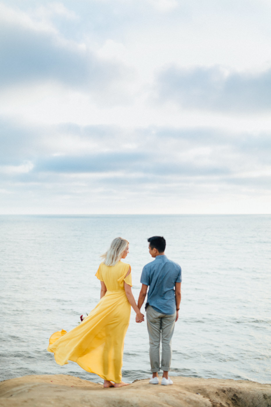 EngagementPhoto Session in Sunset Cliffs Park
