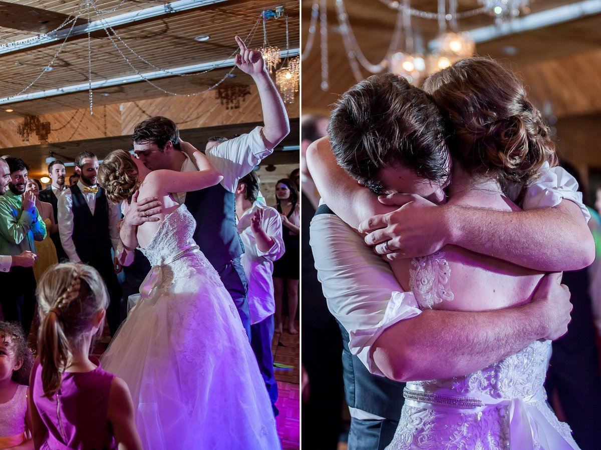 Wedding dances, parties, uplighting, drama and emotional photography by Kris Kandel
