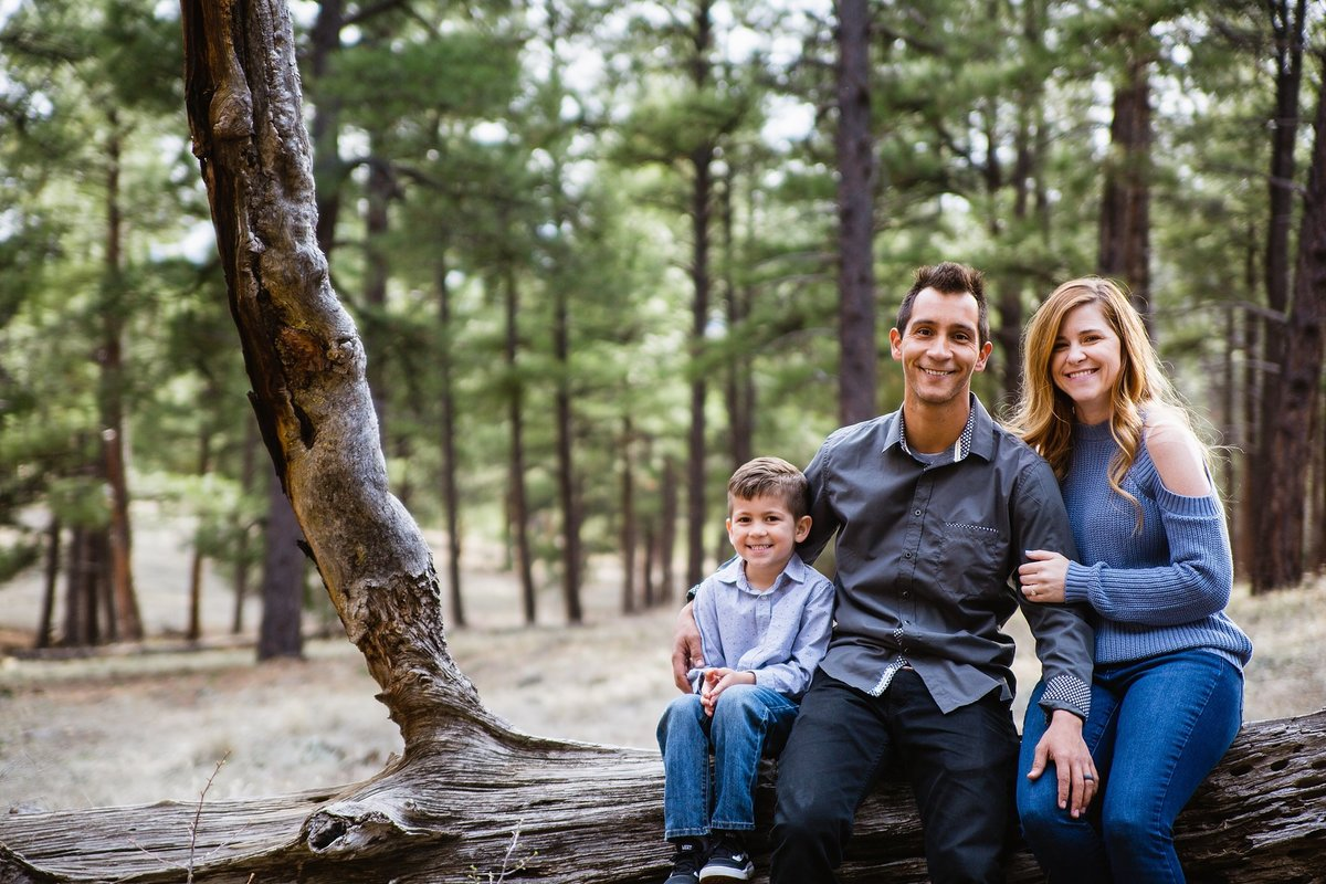 Flagstaff AA Family Photographers Buffalo Park