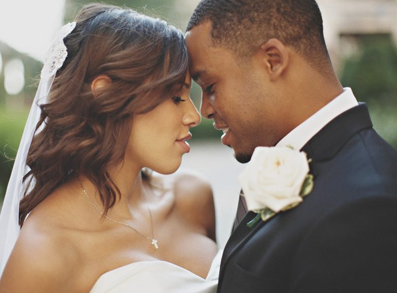 african american couple intimate photo