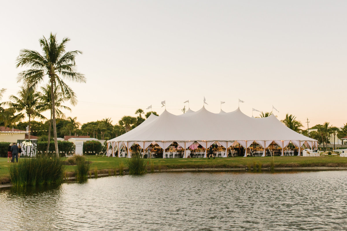 Destination Wedding Planner LK Events Gasparilla Island Tent Wedding Inspo