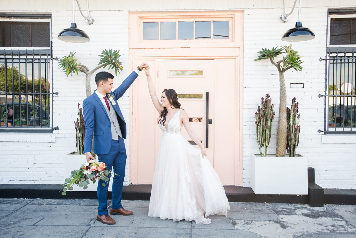 Tampa boho wedding at Fancy Free Nursery 49