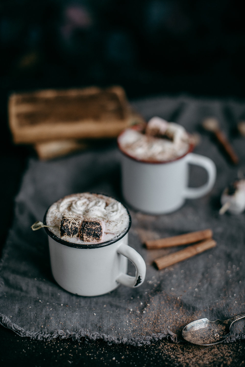 Spiced Rum & Nutmeg Milk With Toasted Marshmallows | Anisa Sabet | The Macadames-81