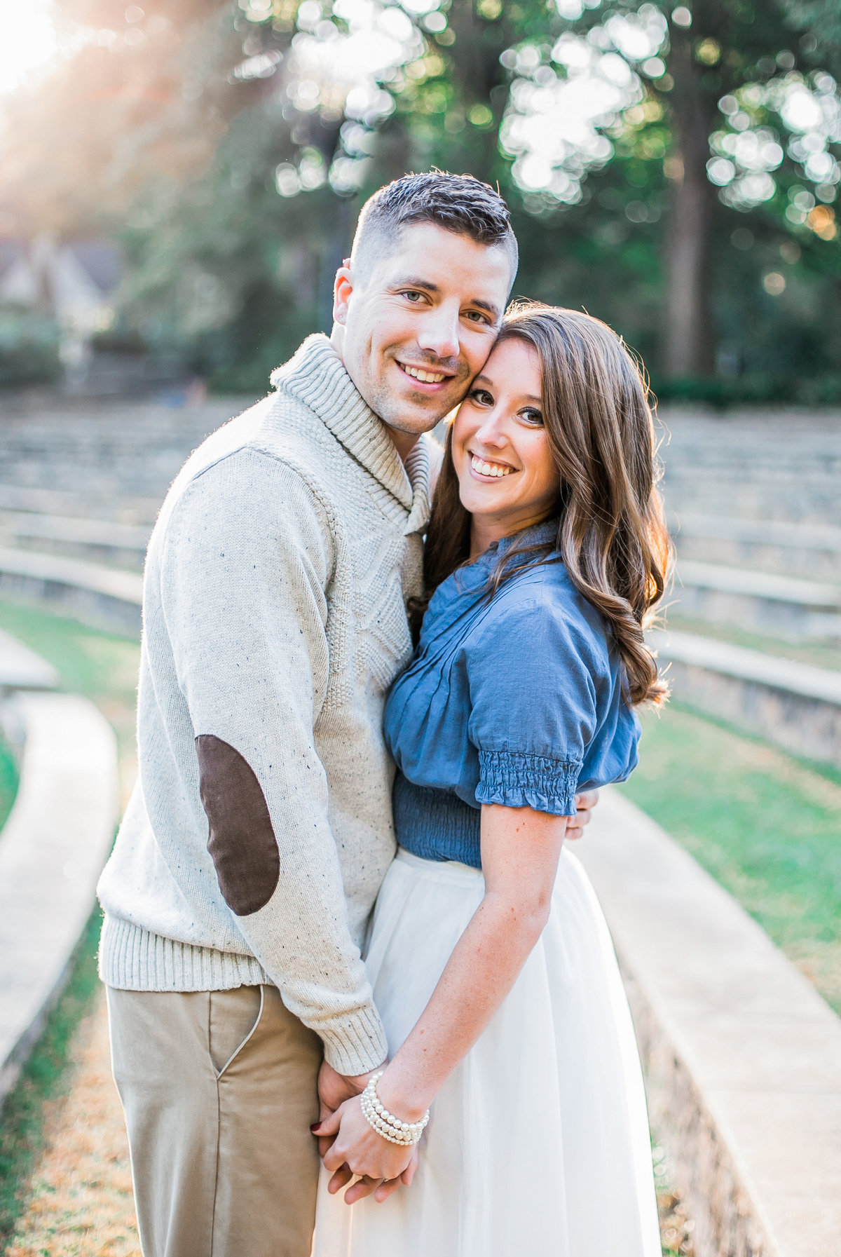 Raleigh Couples Engagement Portrait Photography