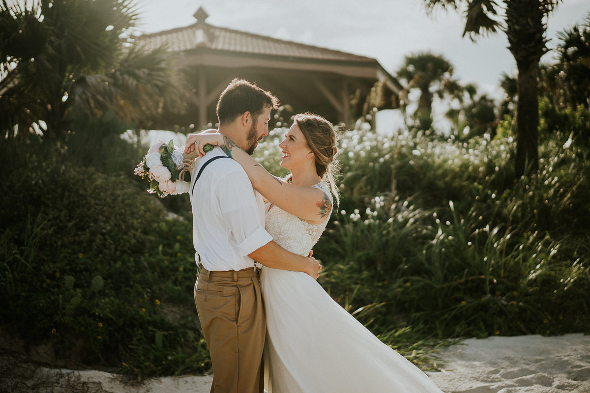 Daytona Beach Boho Elopement web-6