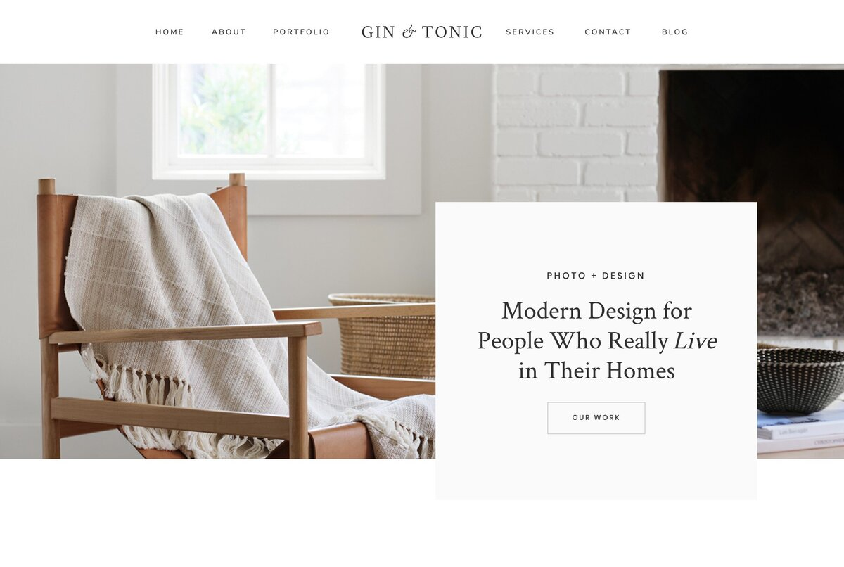 Gin and Tonic Home Short