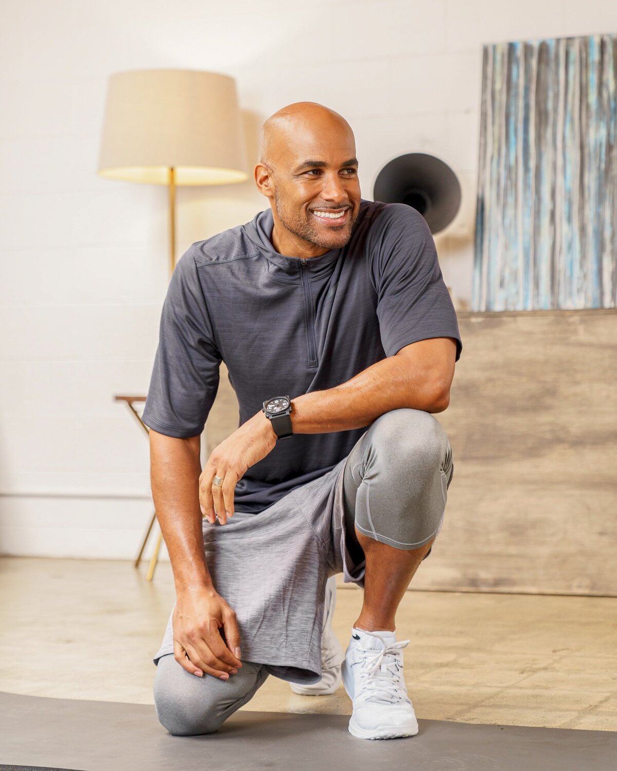 Boris Kodjoe actor with KoFit