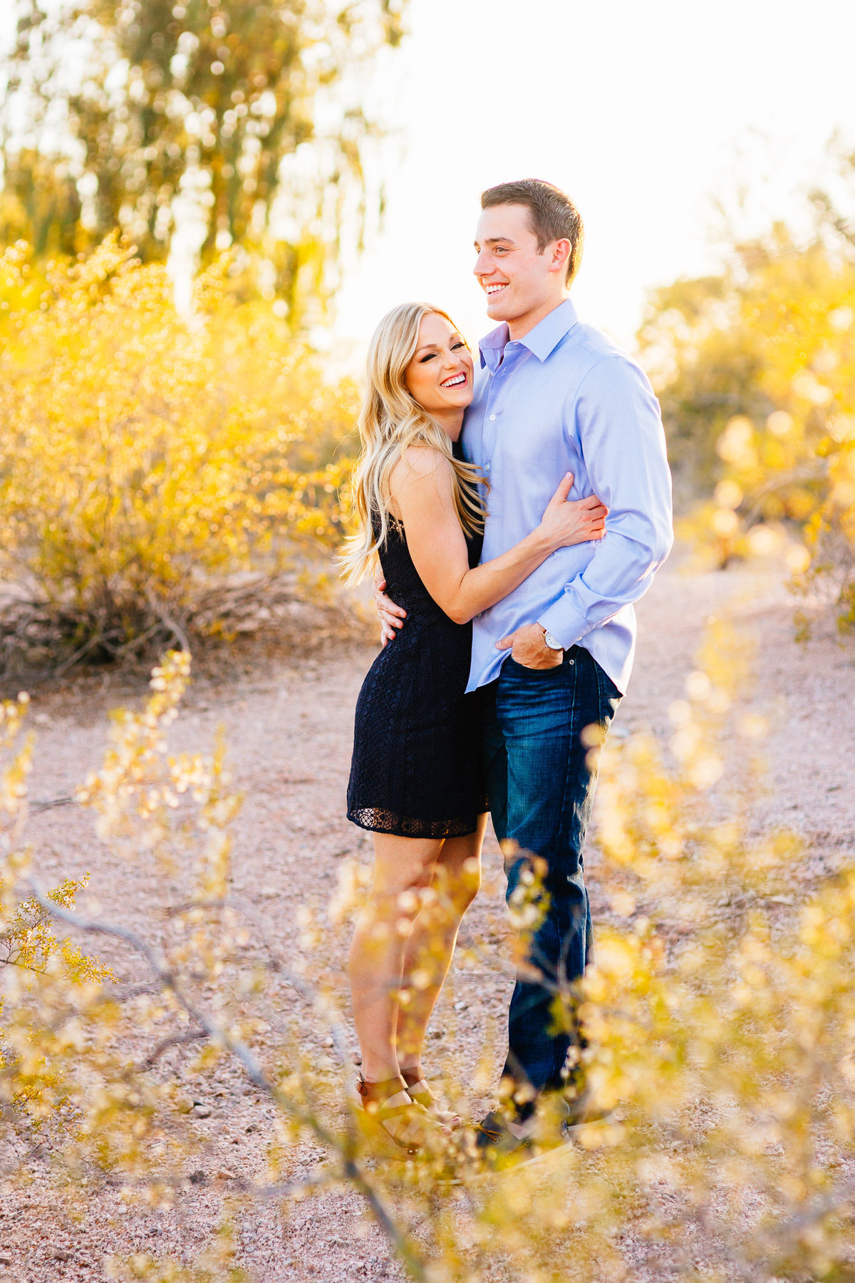Rachel + Logan - Papago Park Engagement Session-1