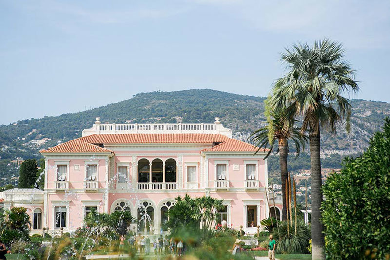 villa ephrussi rothschild wedding5