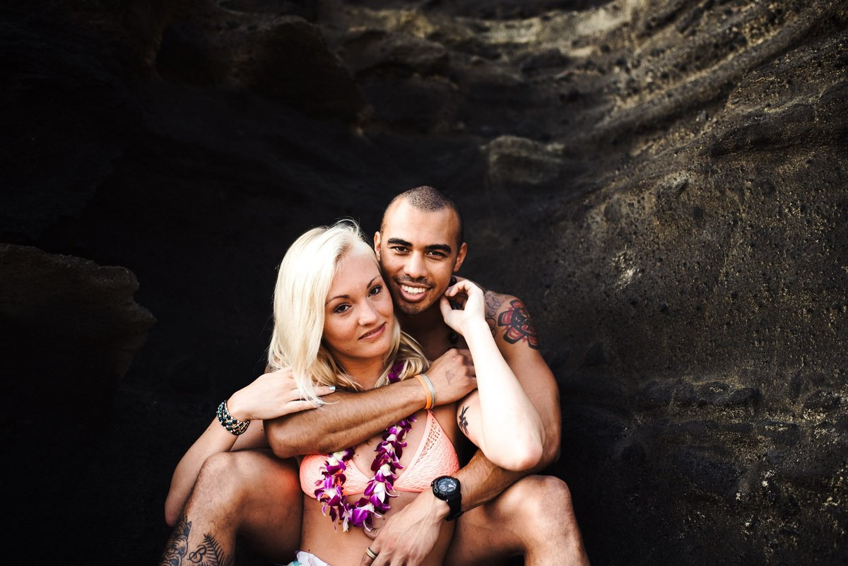 Eternity Beach Honolulu Hawaii Destination Engagement Session - 55