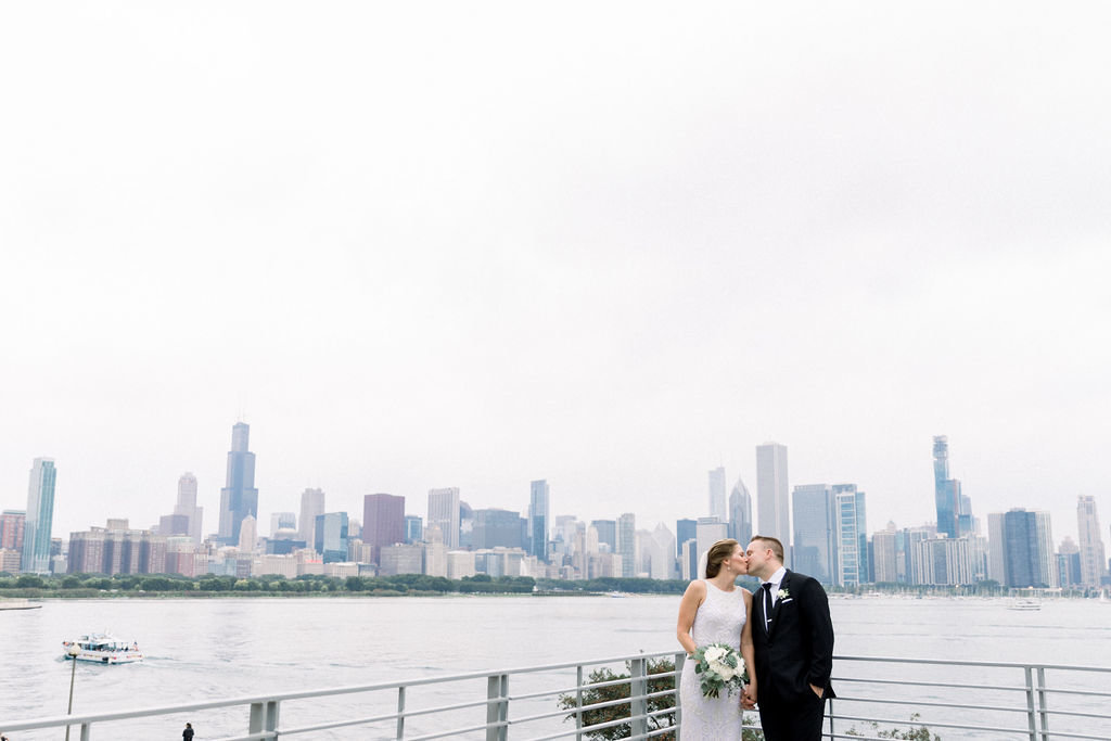 Kelsey and Dain Adler Planetarium wedding