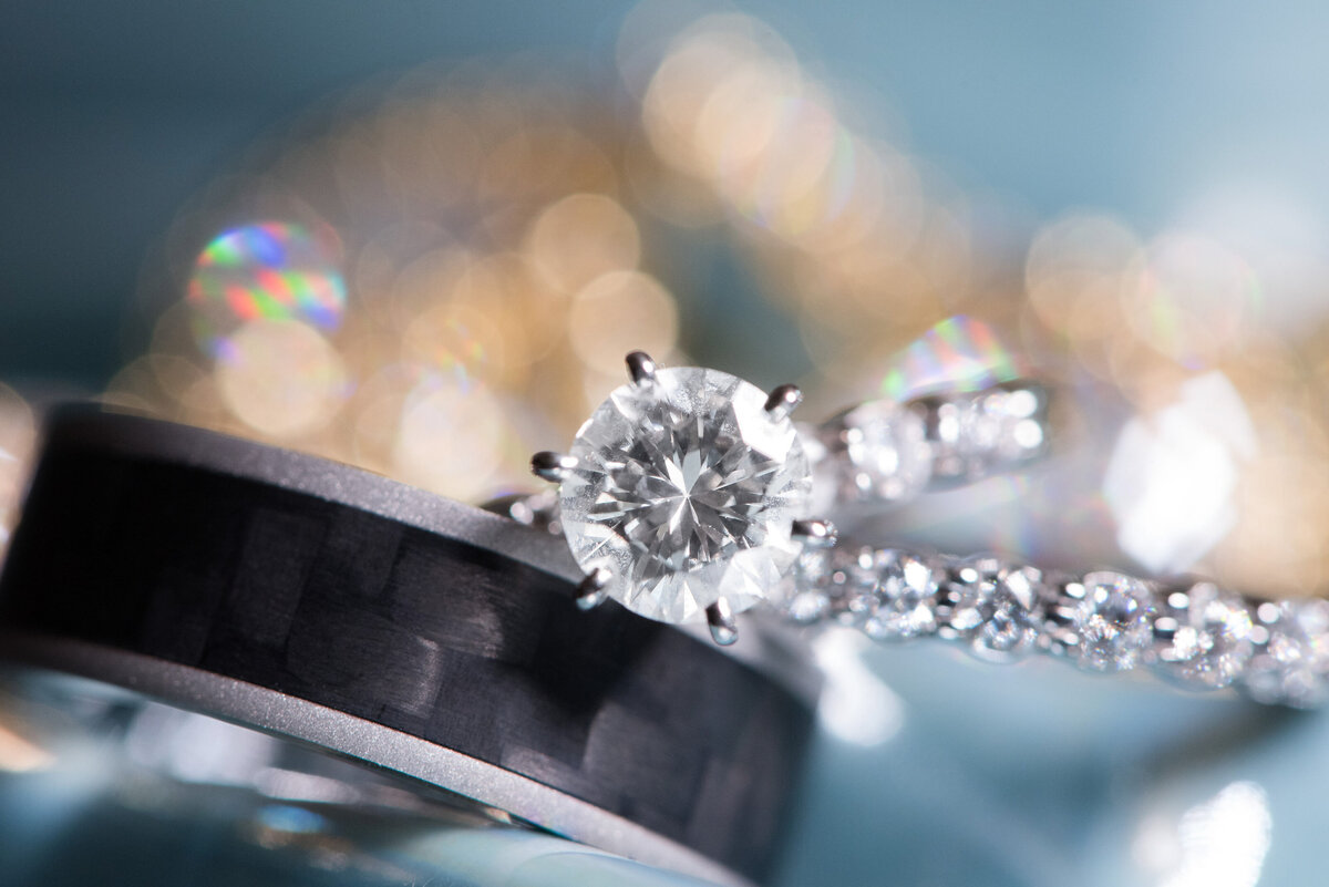 diamond ring wedding detail