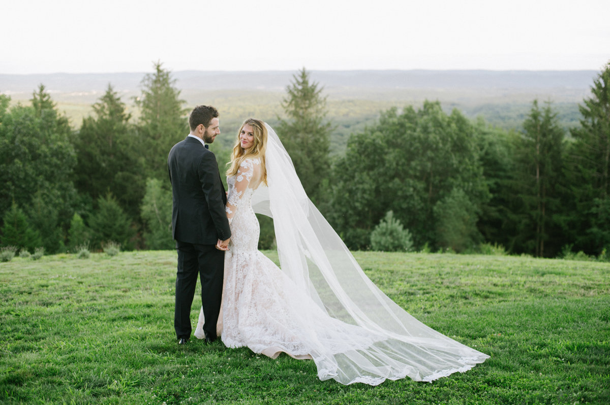 Mountain top wedding in upstate NY