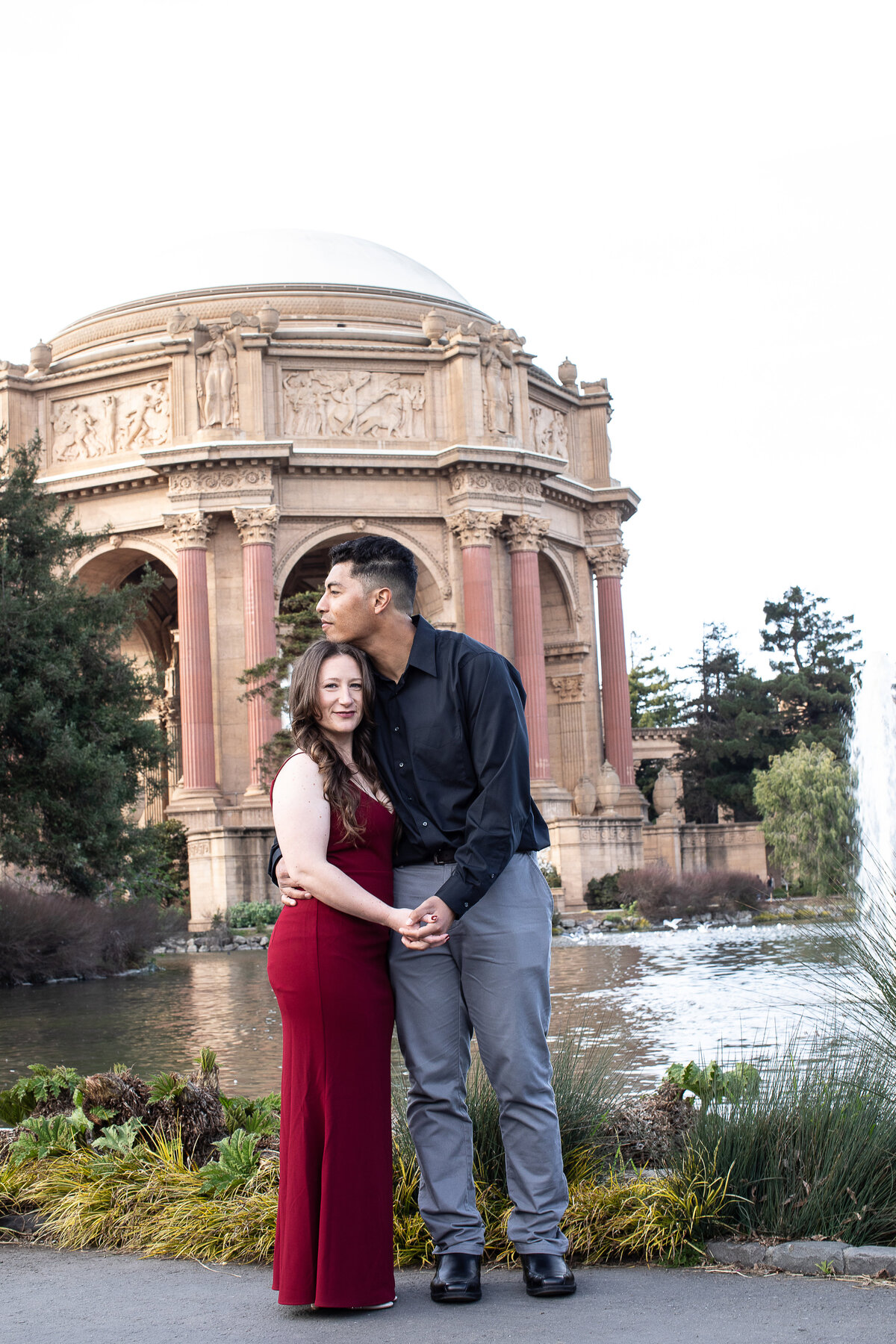 Engagement Shoot Palace of Fine Arts