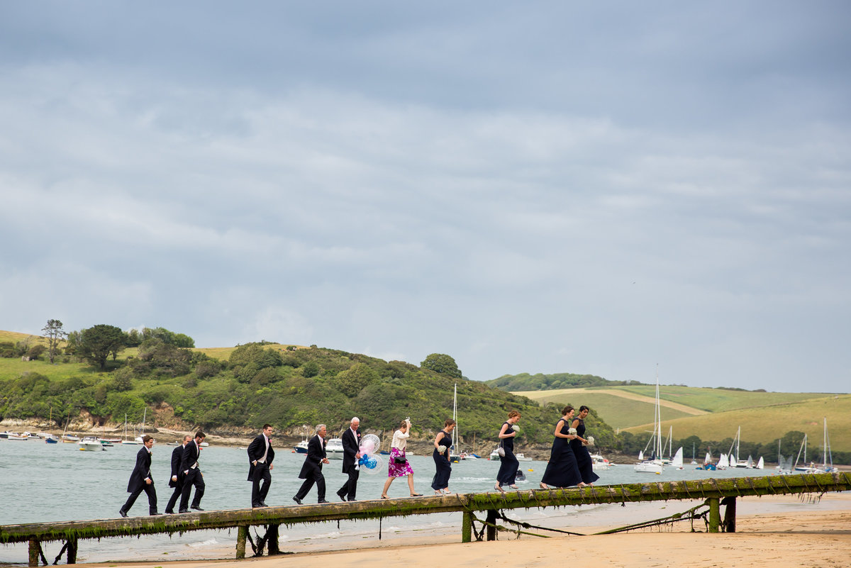 salcombe wedding photography in devon
