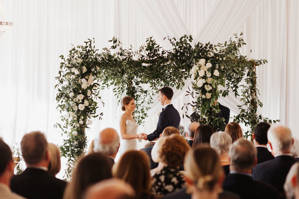 Greenery Chuppah Jewish Ceremony