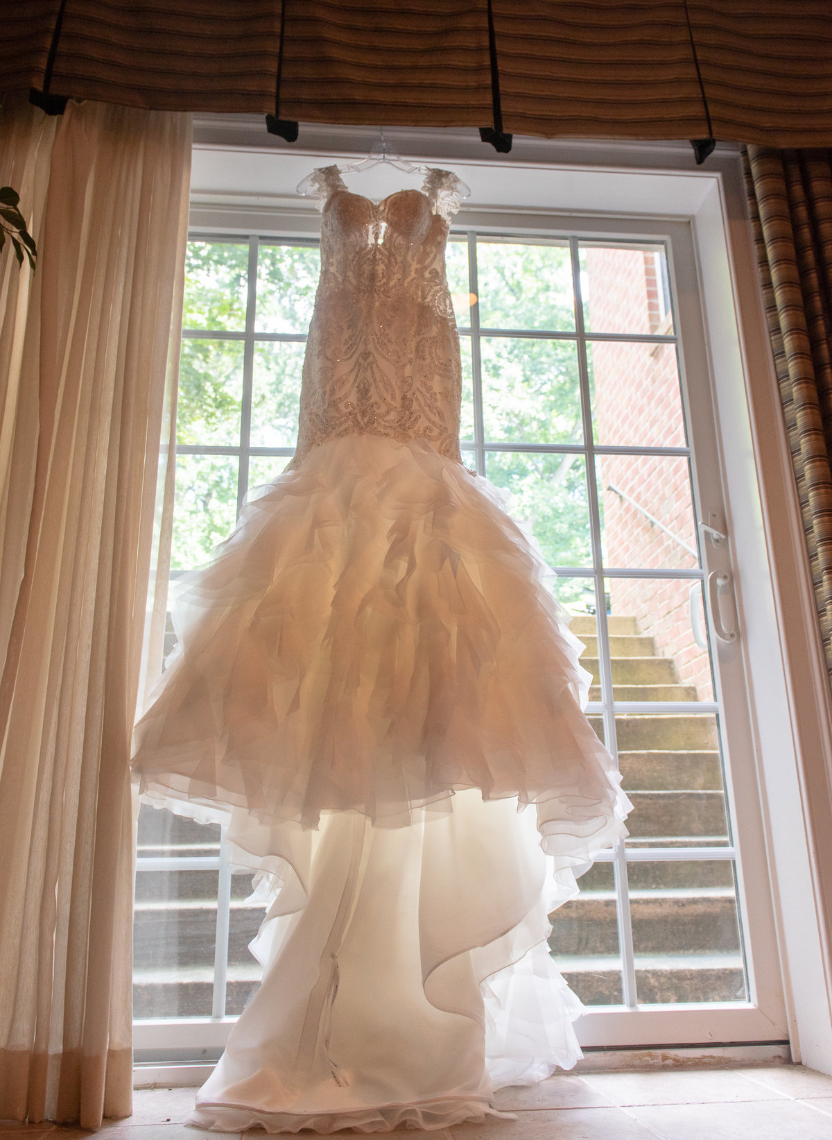 Window Wedding Dress Baltimore Maryland
