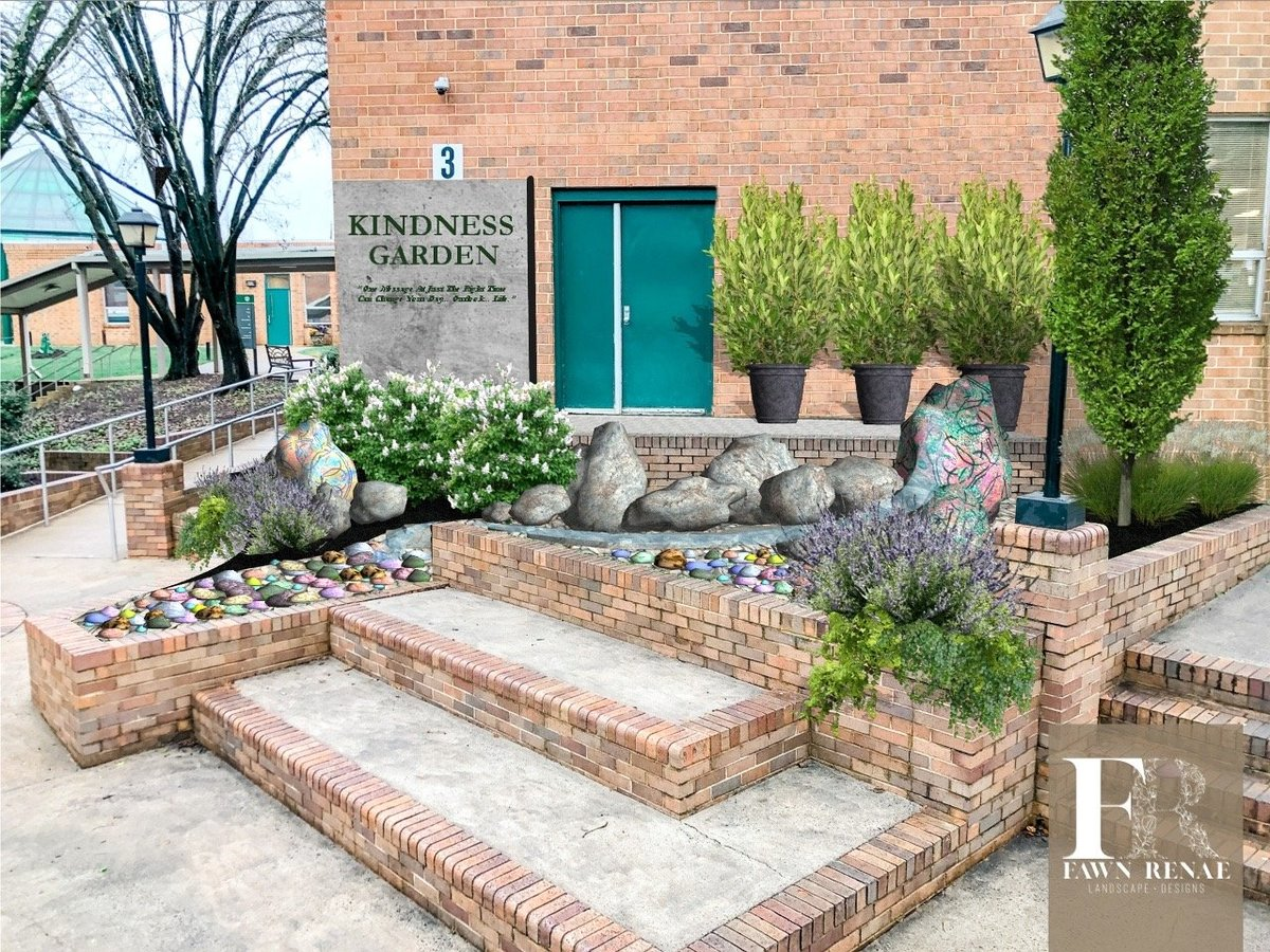 Kindness Garden Side View