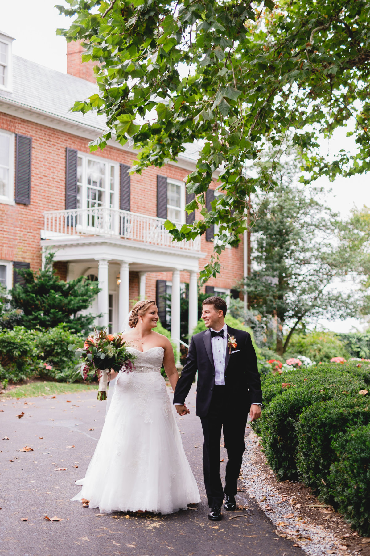 Maryland Wedding Photographer Brittland Manor Ceremony Tented Reception 057