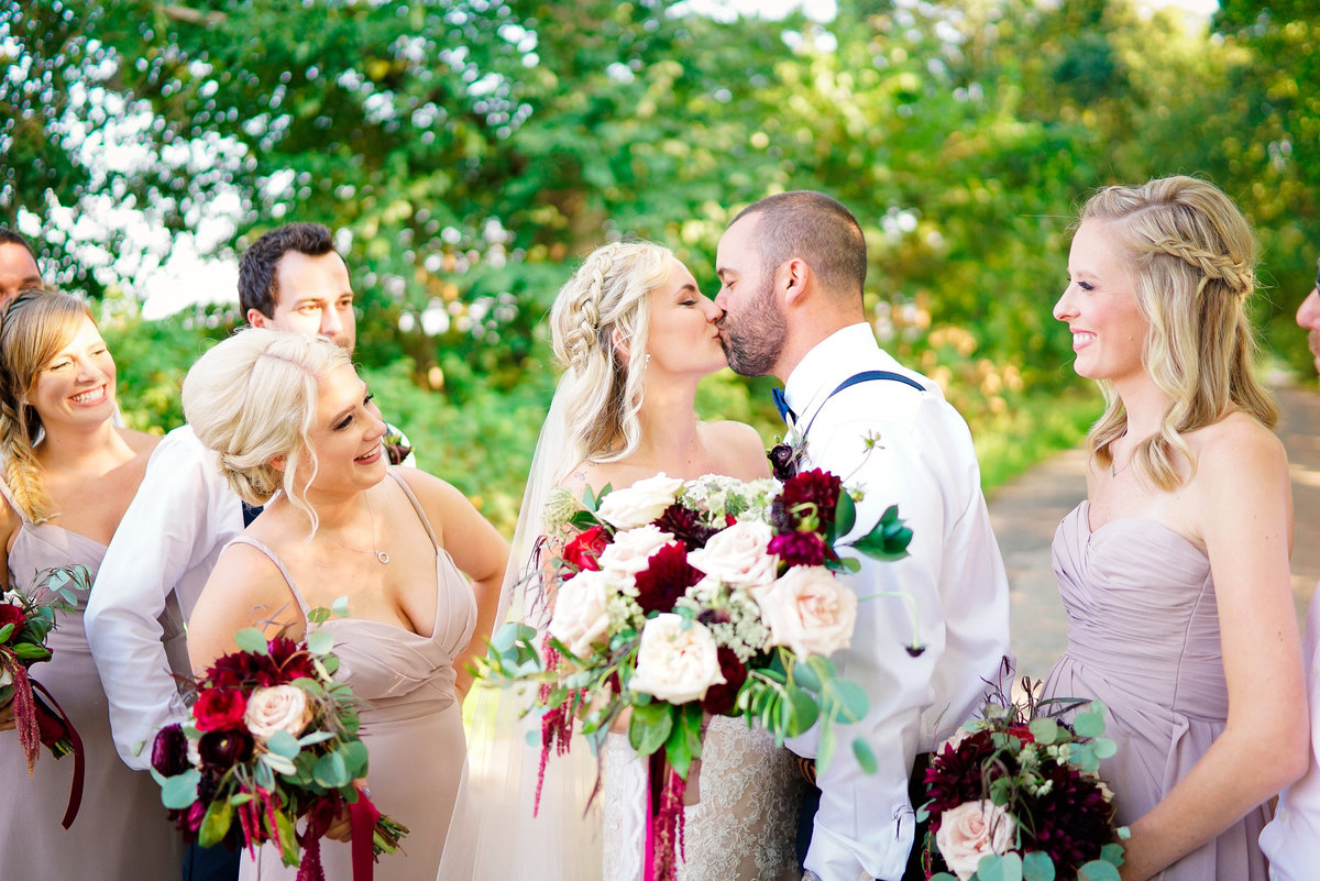 bride-groom-kissing-misty-farm