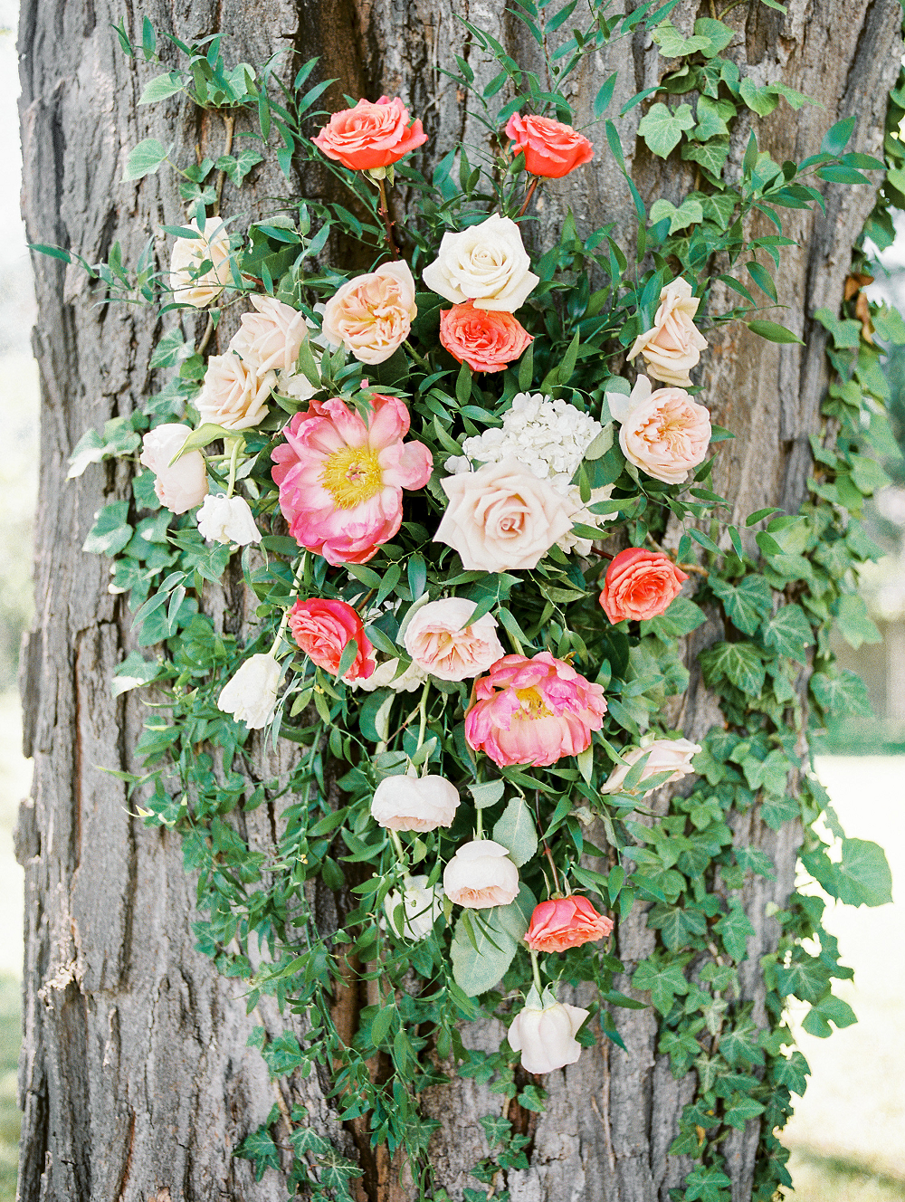 Whimsical Summer Wedding Styled Shoot at Henderson Castle Featured in WeddingDay Magazine Florals