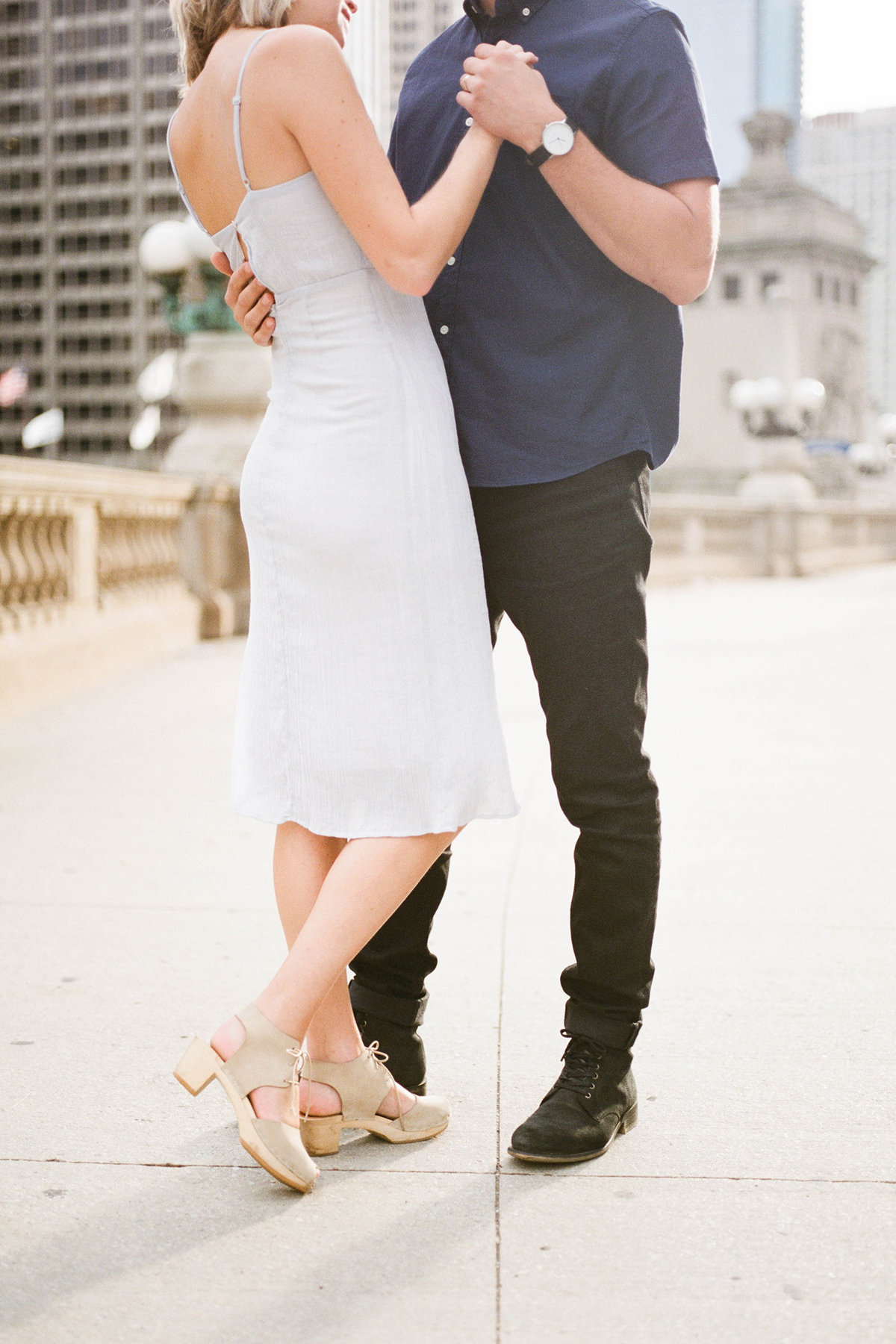Chicago Wedding Photographer - Fine Art Film Photographer - Sarah Sunstrom - Sam + Morgan - Engagement Session - 10