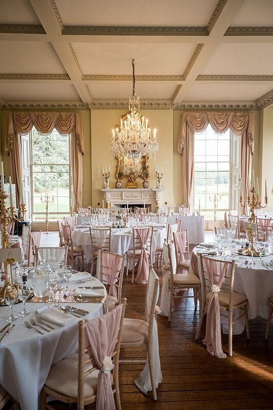 Pink and ivory wedding Prestwold (3)