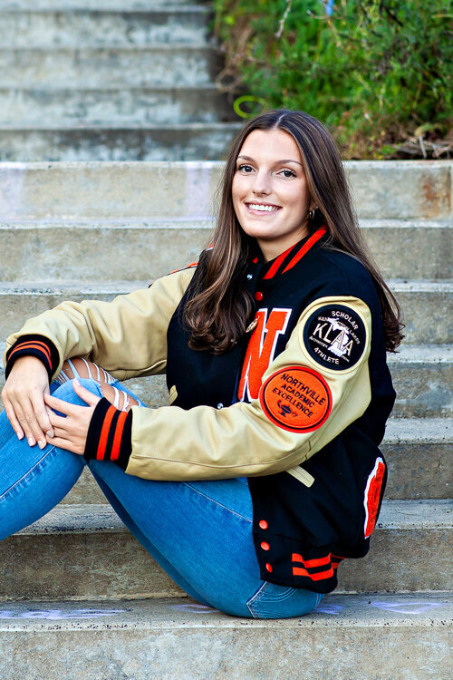 northville high school pictures varsity jackey senior photo michigan portraits photography
