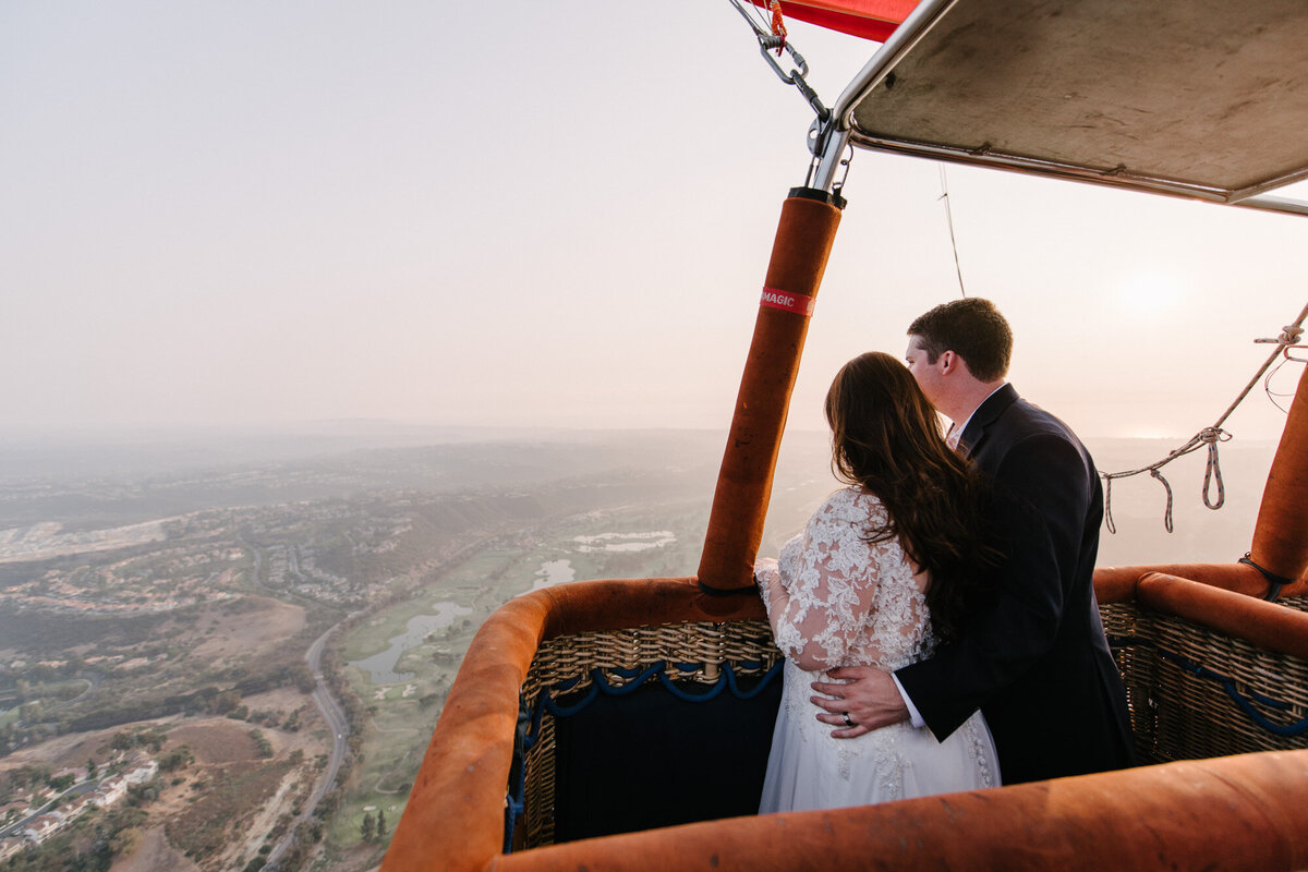 Hot Air Balloon Elopement Marie Monforte Photography-174
