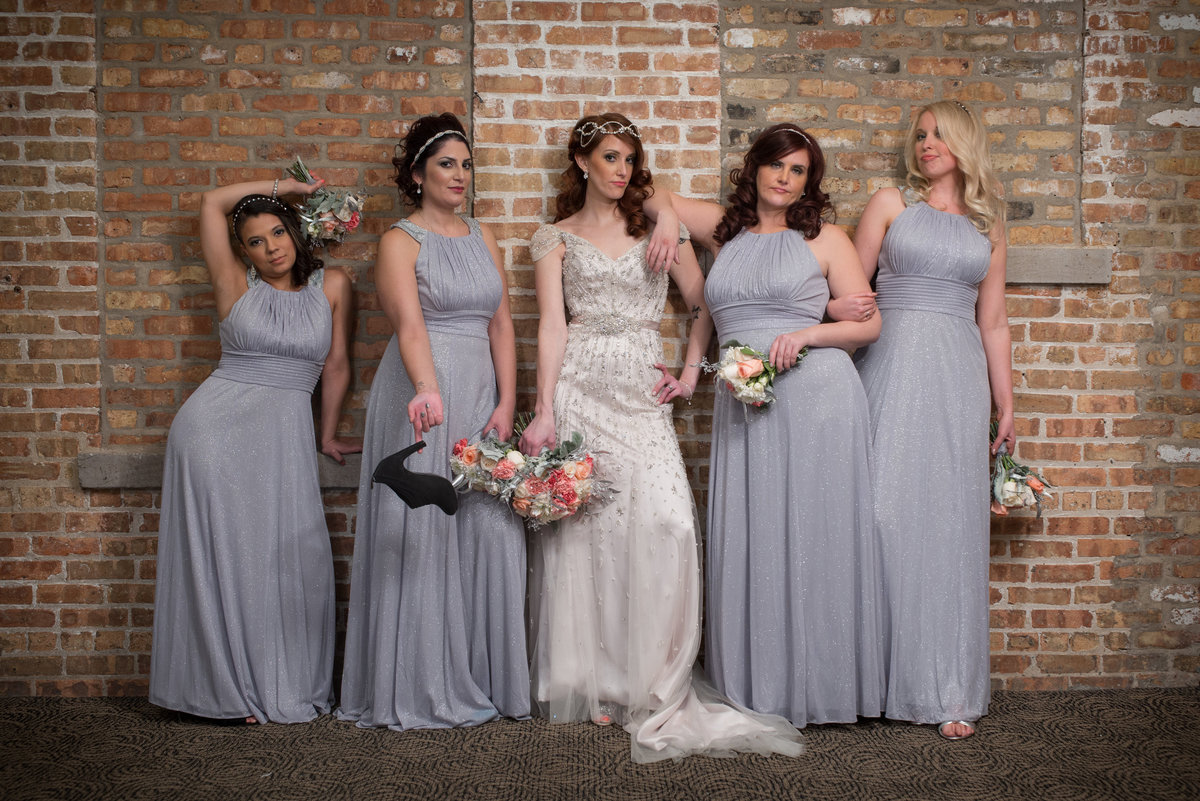 Bridesmaids sassy movie pose