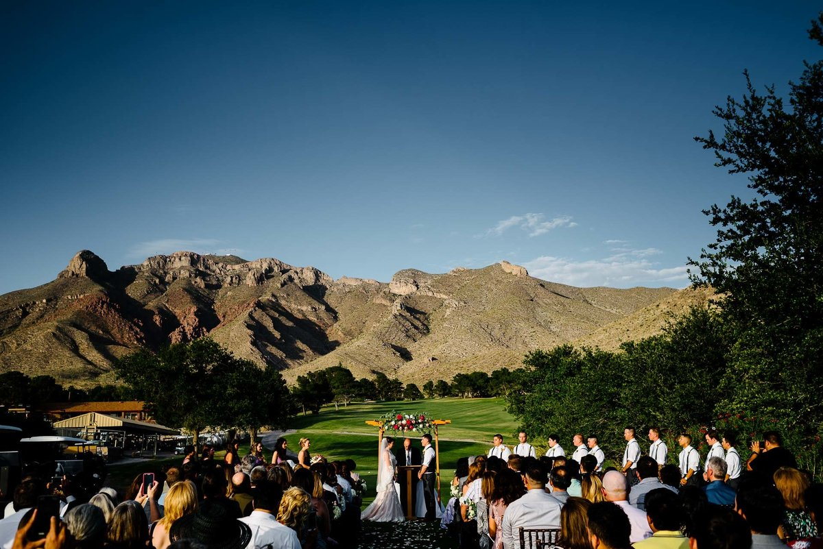 wedding at coronado country club in el paso by stephane lemaire photography