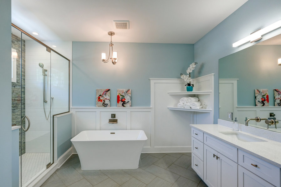 willow ave master bathroom