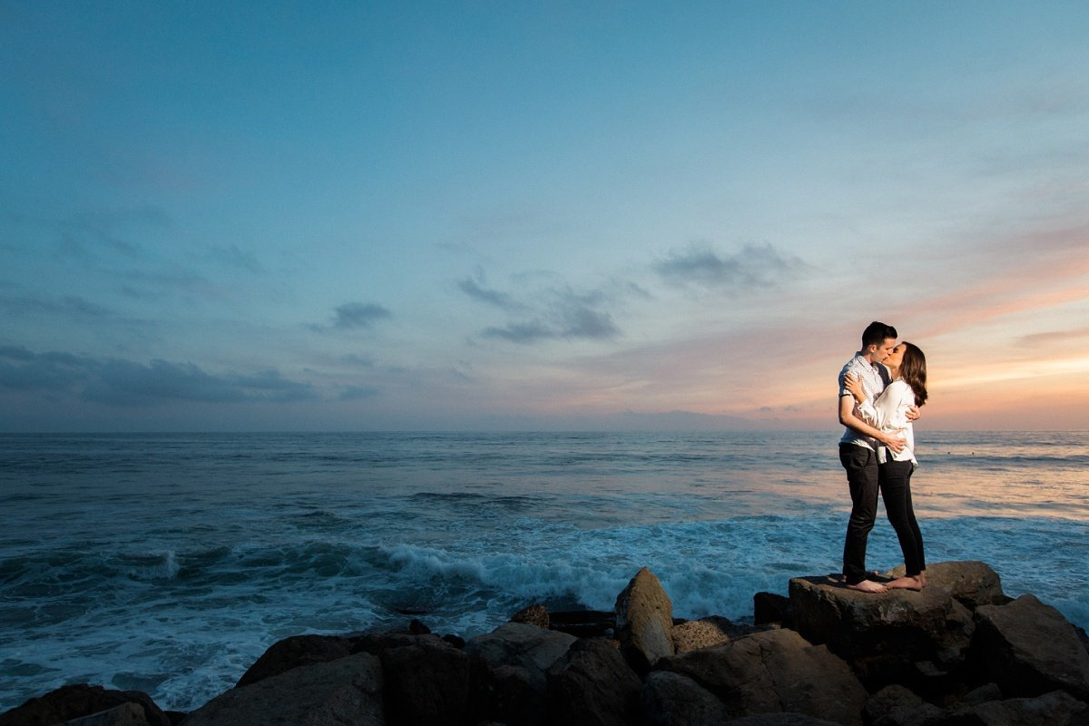 Orange County Wedding Photography Laguna Beach Engagement Session by Three16 Photography