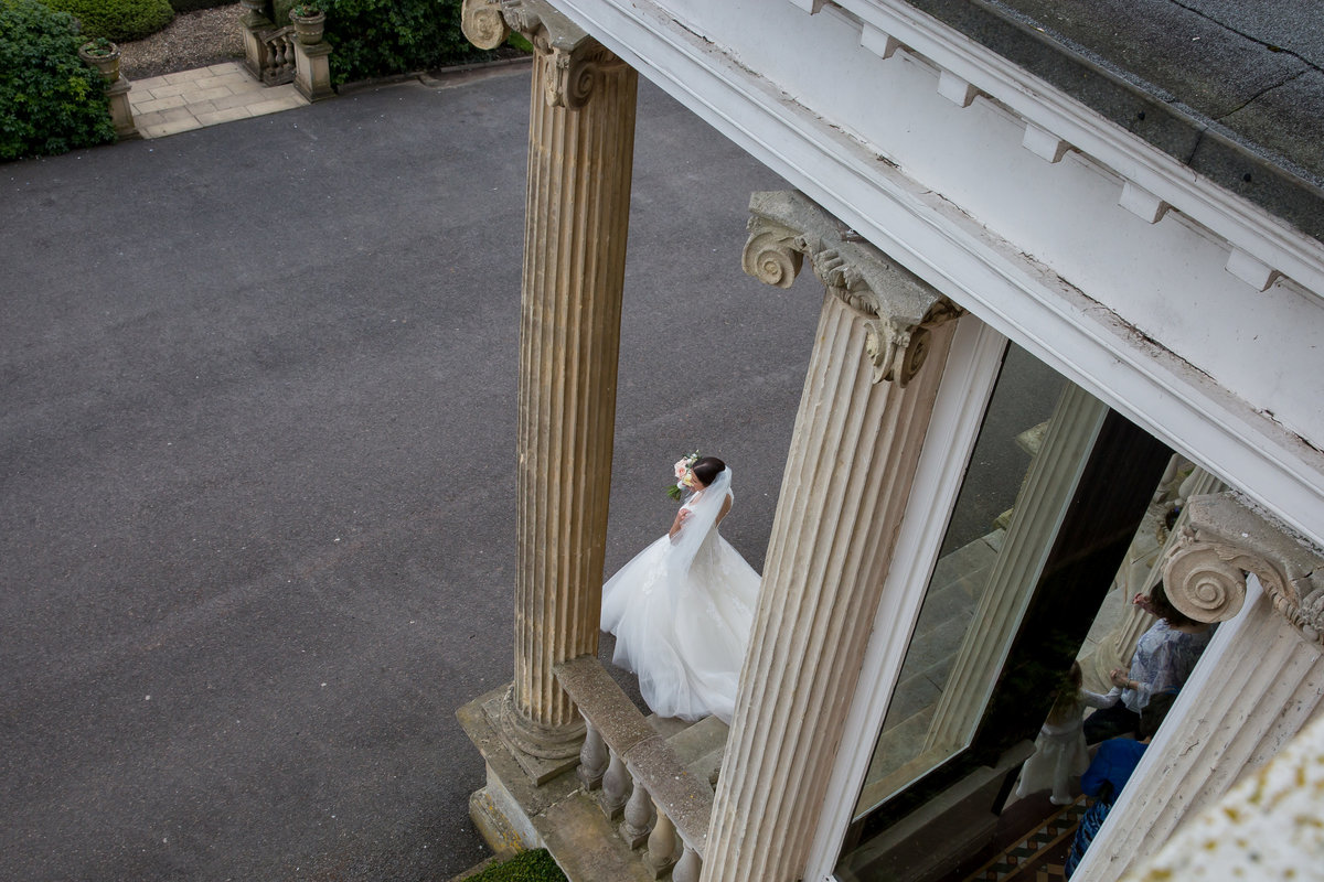 bride at mount somerset hotel