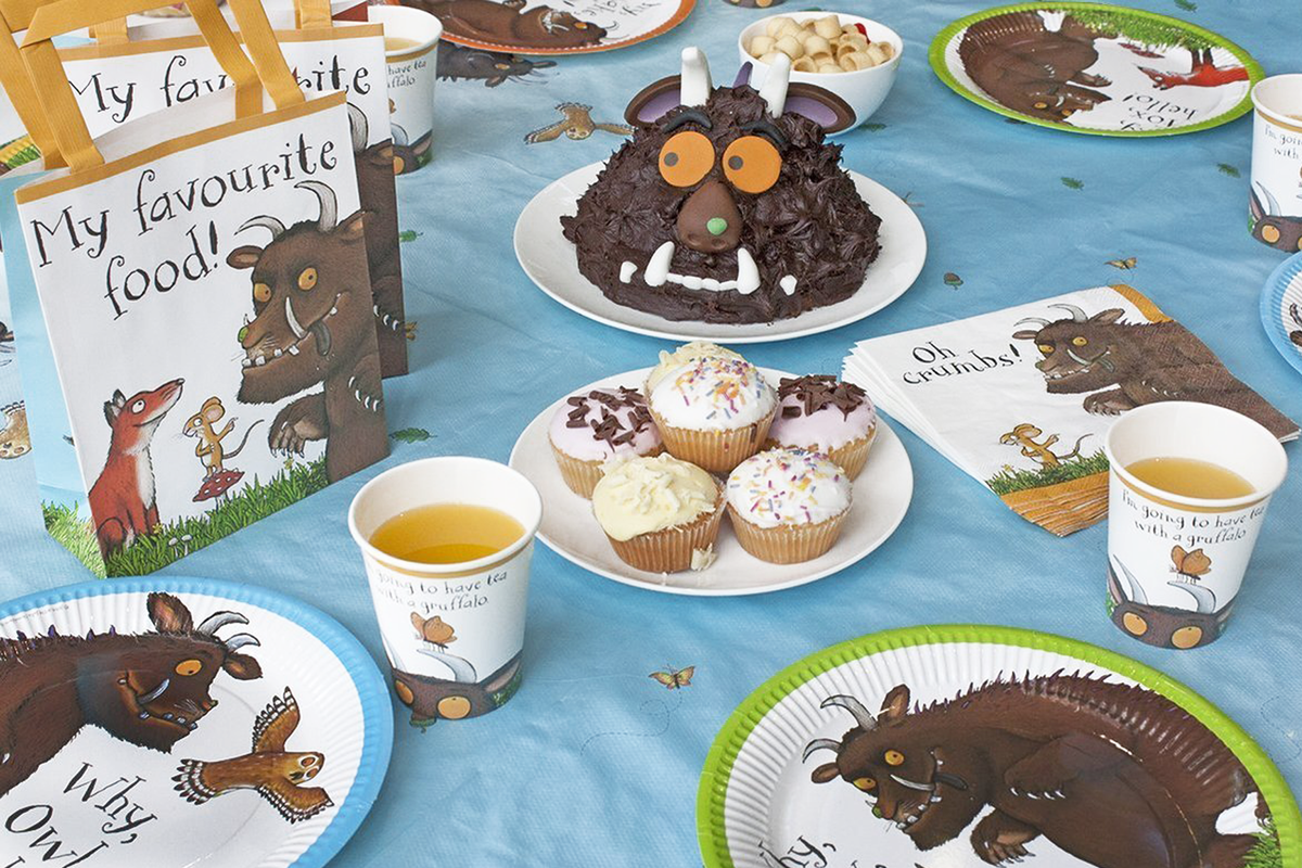 Influential Design Licensed product design, gruffalo tablewear