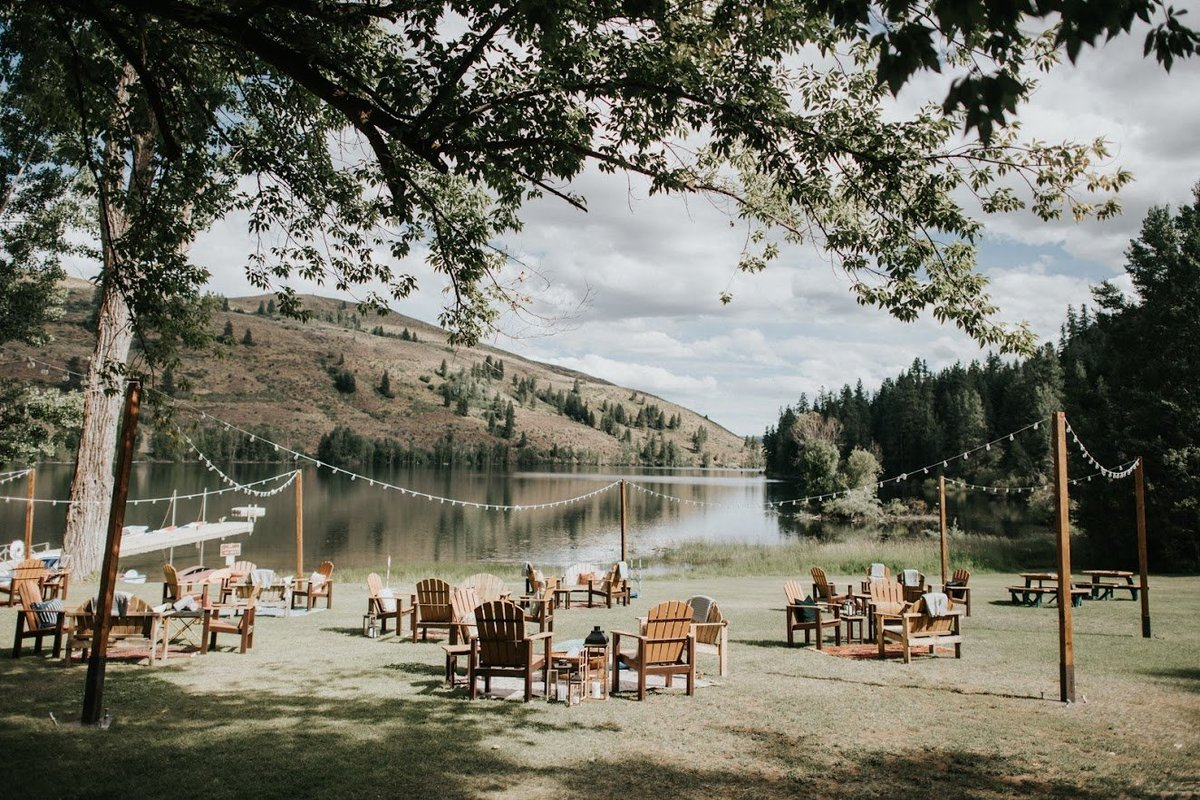 Sun Mountain Lodge Mountain Lake Wedding Winthrop
