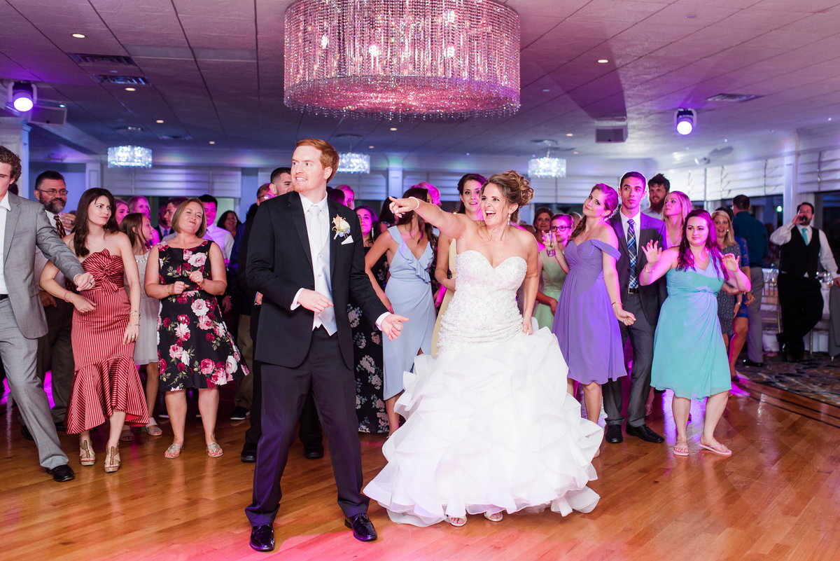 Group Dance Wedding Reception