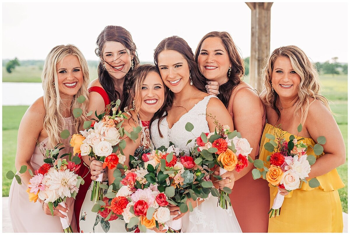 Vibrant Boho Wedding at Emery's Buffalo Creek - Houston Wedding Venue_0073