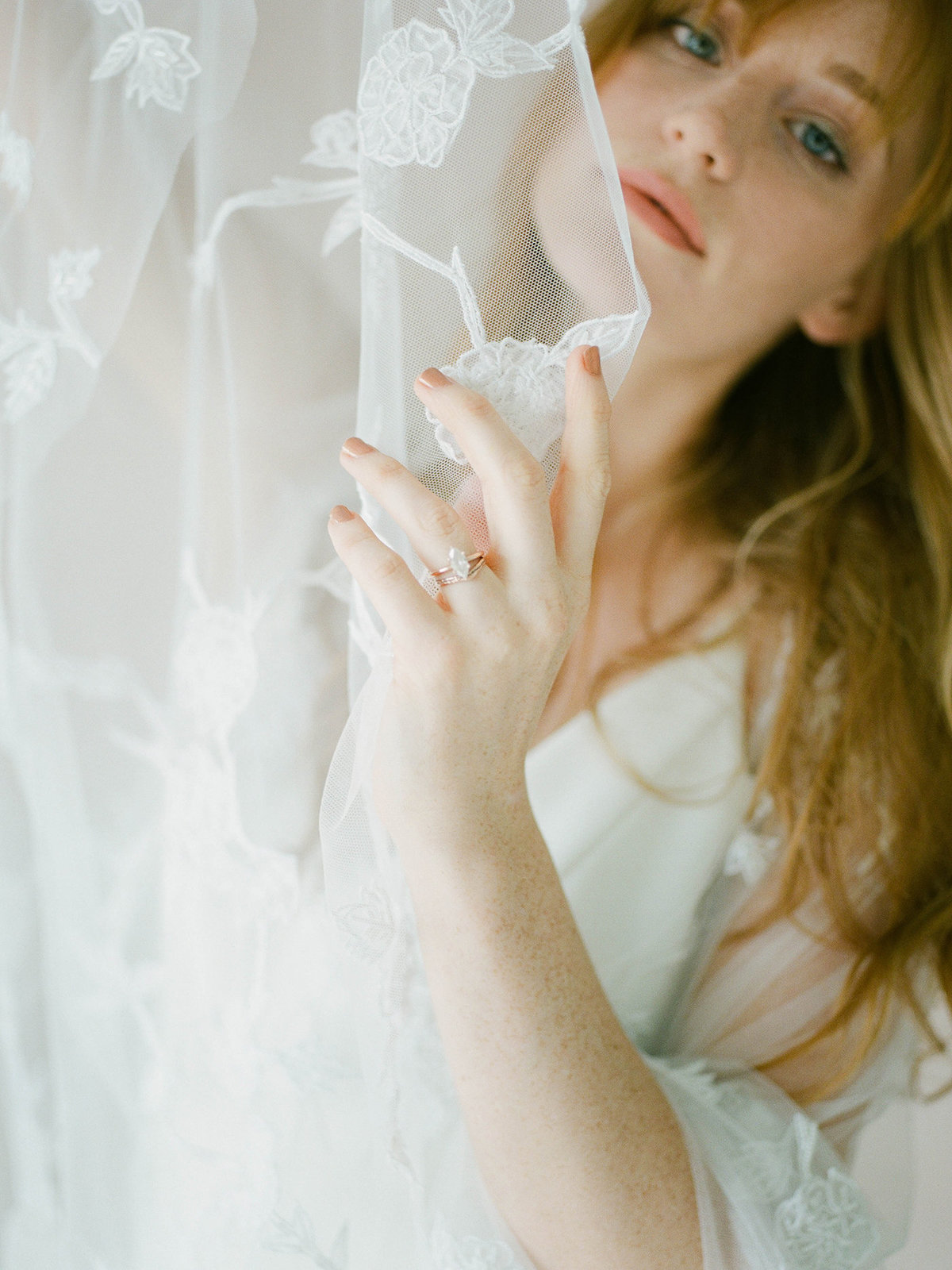 Fine Art Bridal Portraits - Sarah Sunstrom Photography - Film Wedding Photographer - 10