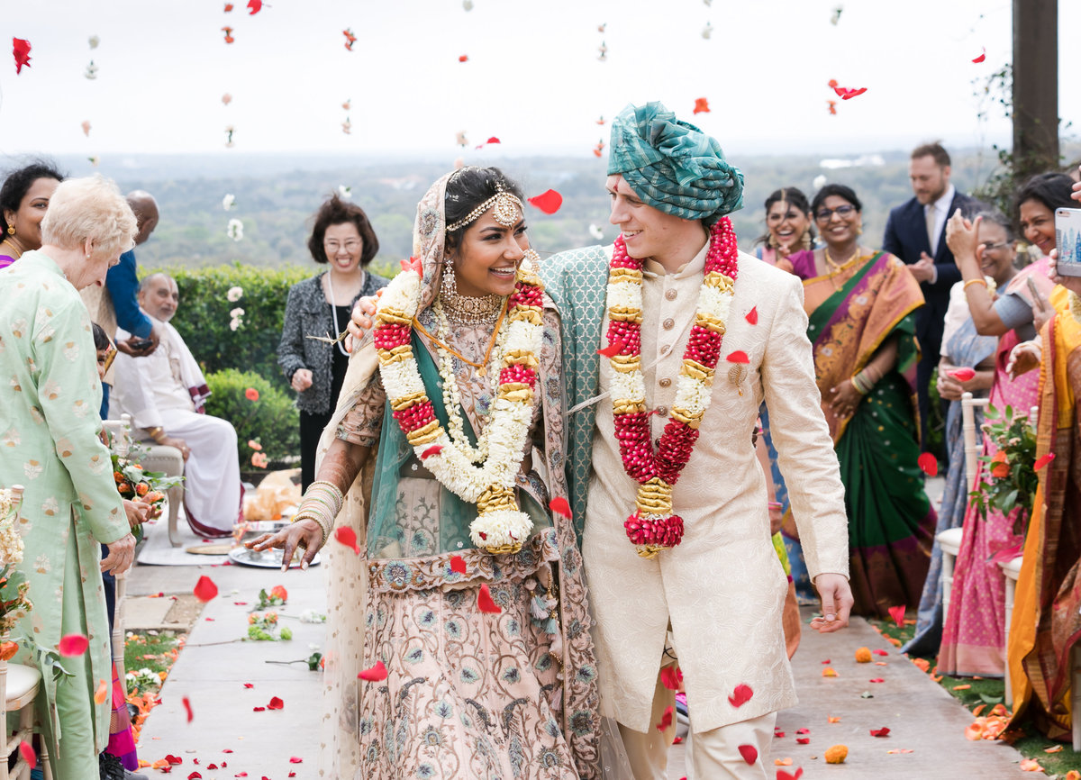 Indian Wedding at Canyonwood Ridge in Dripping Springs
