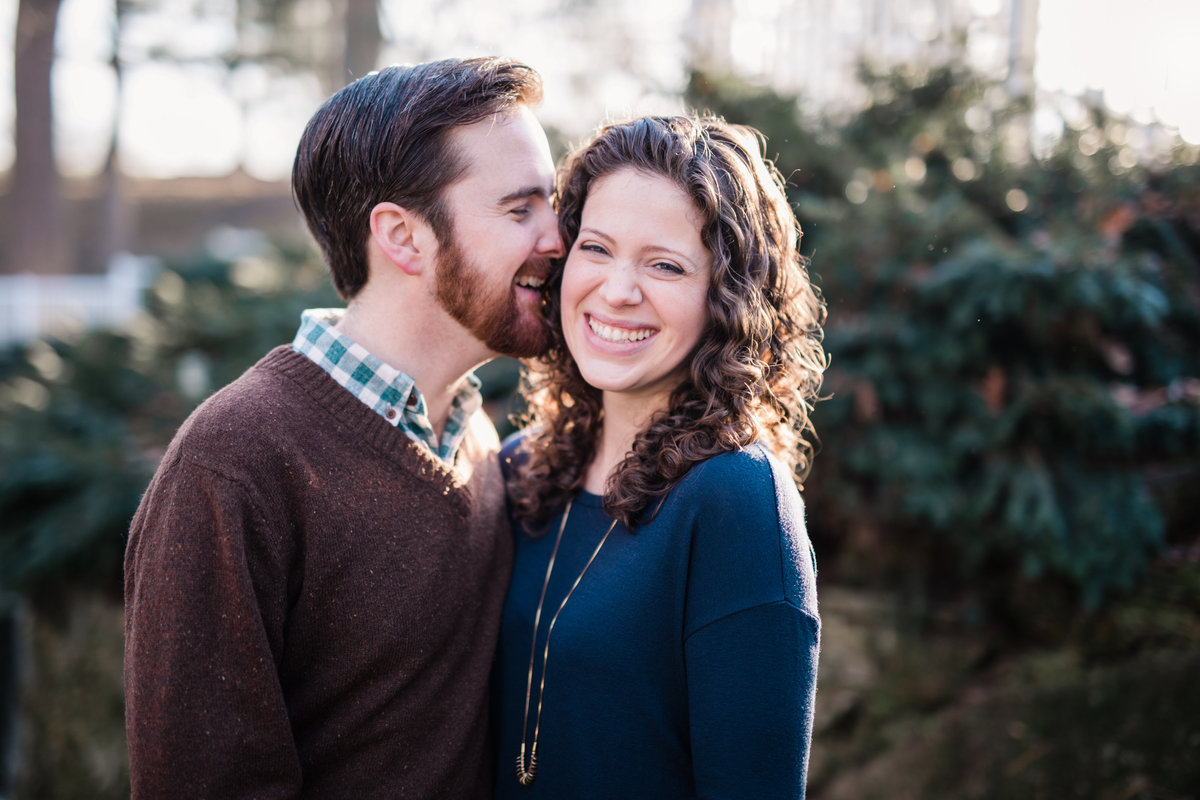 lititz springs park engagement