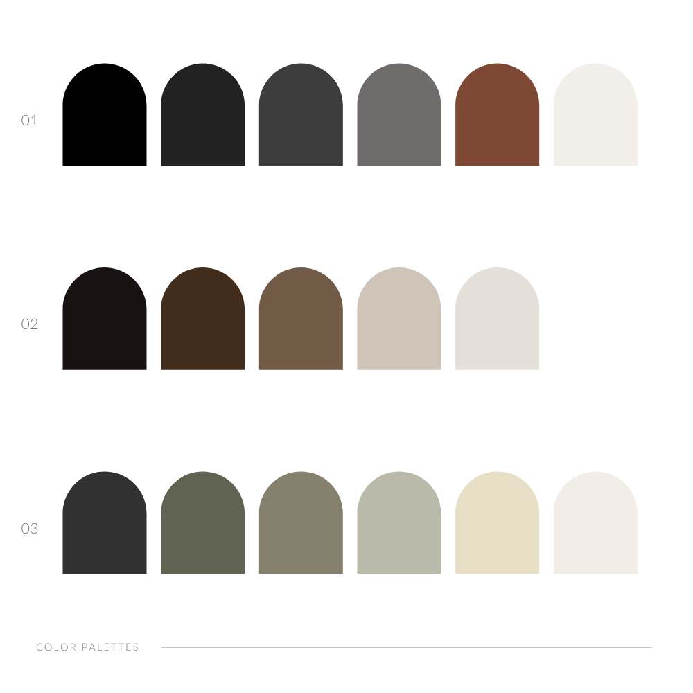 Gray Designs-All Color Palettes