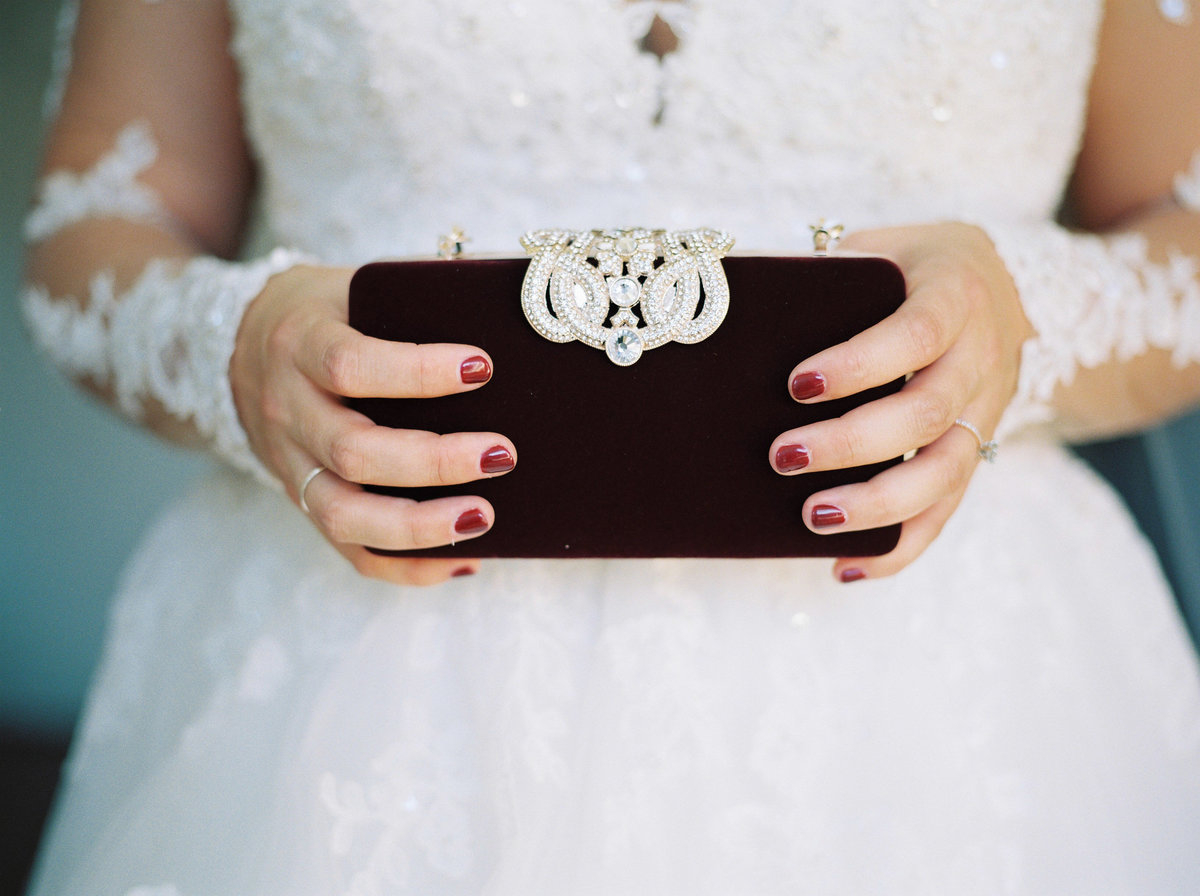burgundy maroon wedding details