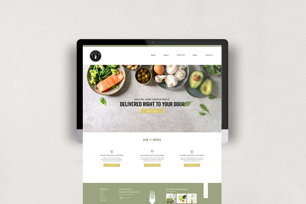 bloom-studio-meals-by-lisa-website-design