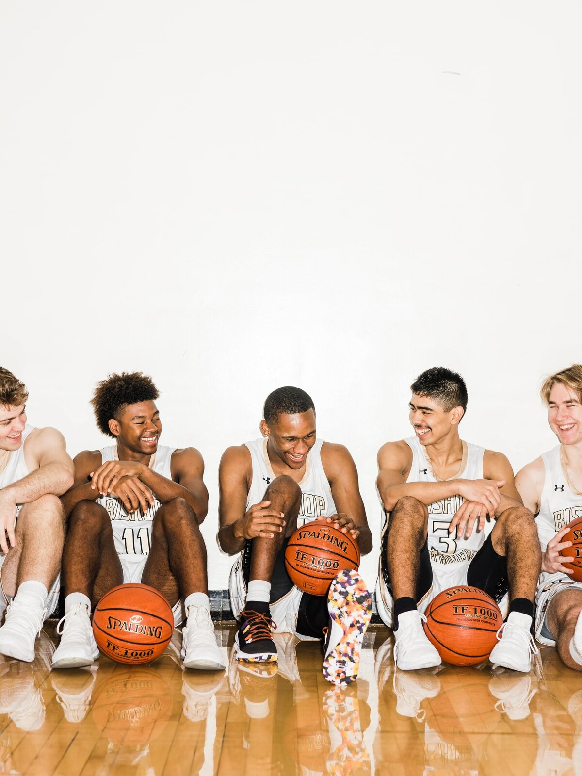 Bishop Montgomery Boys Basketball team